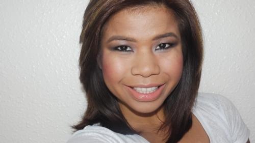 xmas makeup look